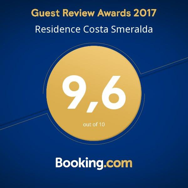 Guest Review Awards Residence Costa Smeralda