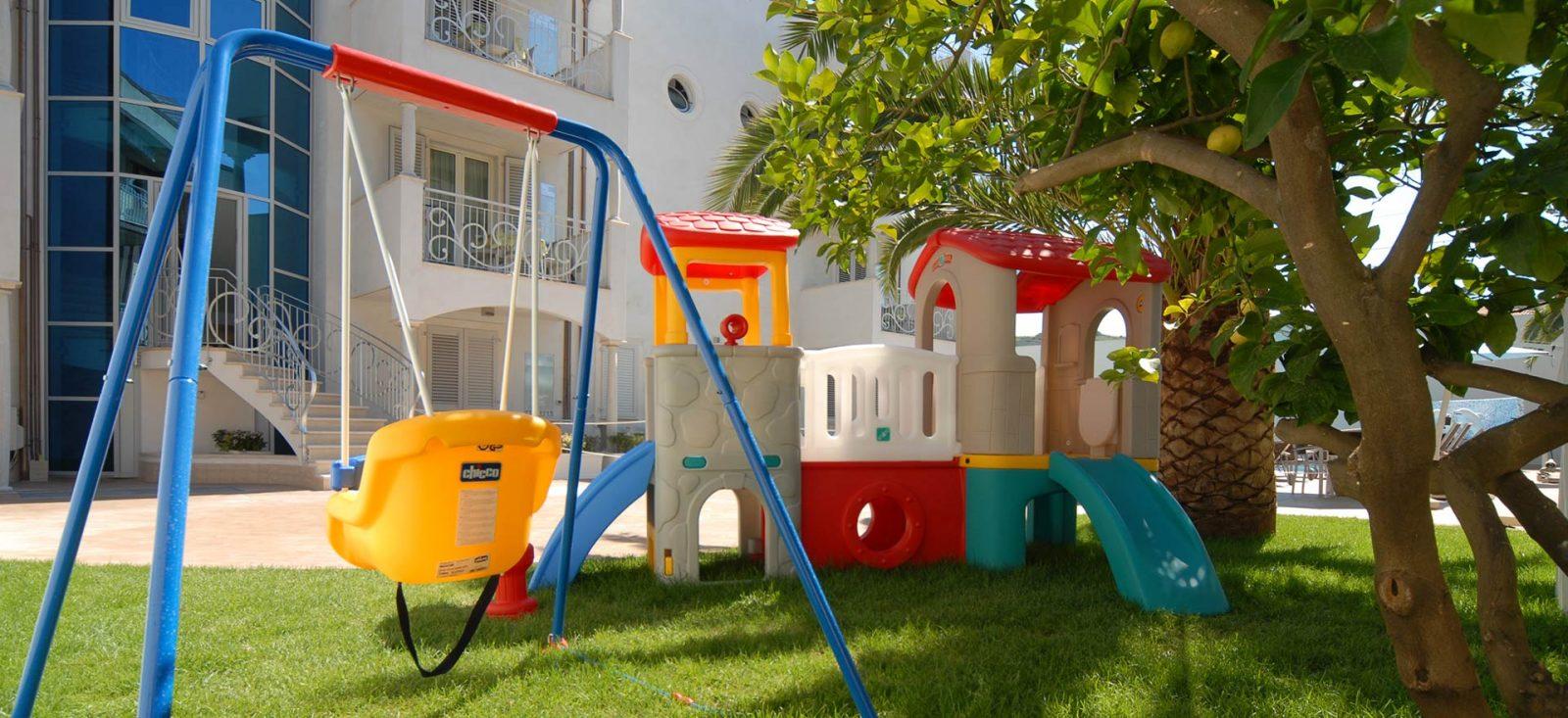 Area giochi Residence Marche